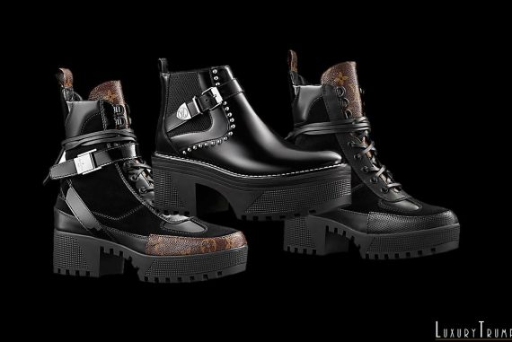 7d52f186960 Goth Fashion Inspired Wonderland Louis Vuitton Boots Collection