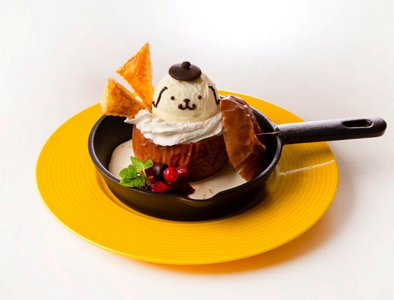 Pompompurin Cafe Sanrio Star