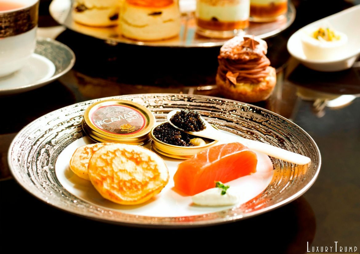 Caviar Afternoon Tea