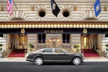 St. Regis NY Bentley Suite