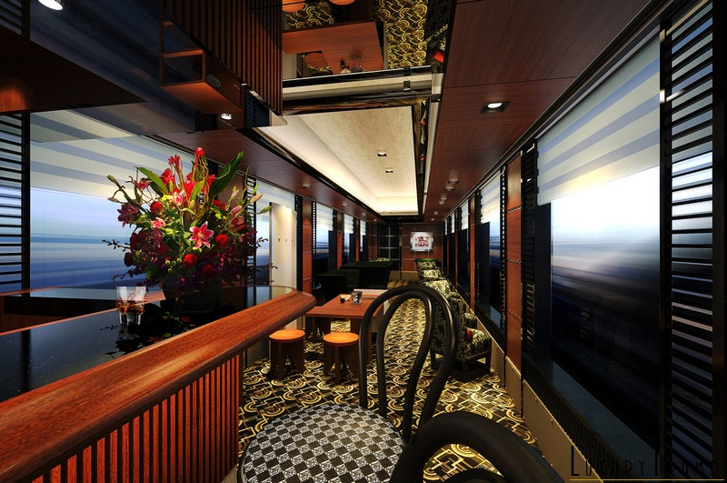 Twilight Express Mizukaze Train