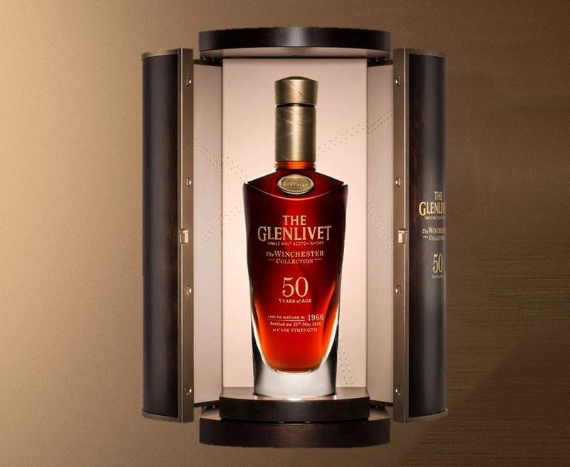 Ultimate Bar Cabinet Glenlivet Winchester 50