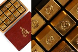 zChocolat Gold Christmas Chocolates