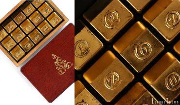 zChocolat Gold Christmas Chocolates
