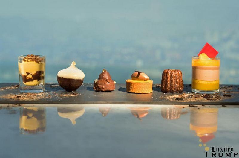 Chocolate Mandarine Afternoon Tea at Café 103