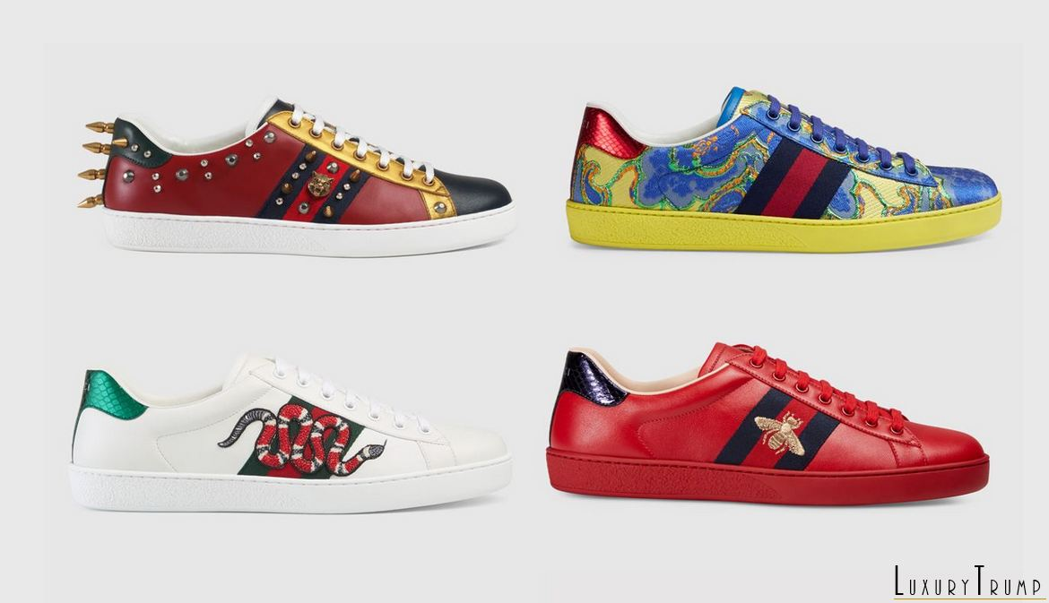 Gucci Ace Sneakers Cruise 2017