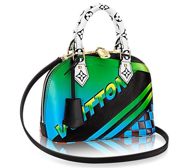 Louis Vuitton Race Bags Collection Alma BB