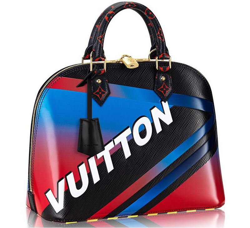 Louis Vuitton Race Bags Collection Alma