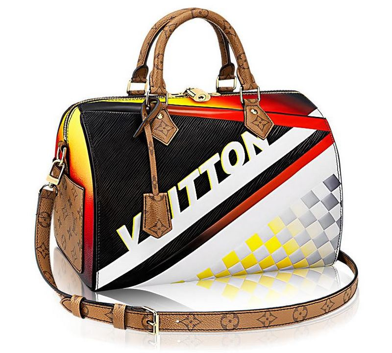 Louis Vuitton Race Bags Collection Speedy