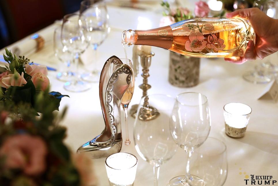 Rupert Sanderson Champagne Slipper