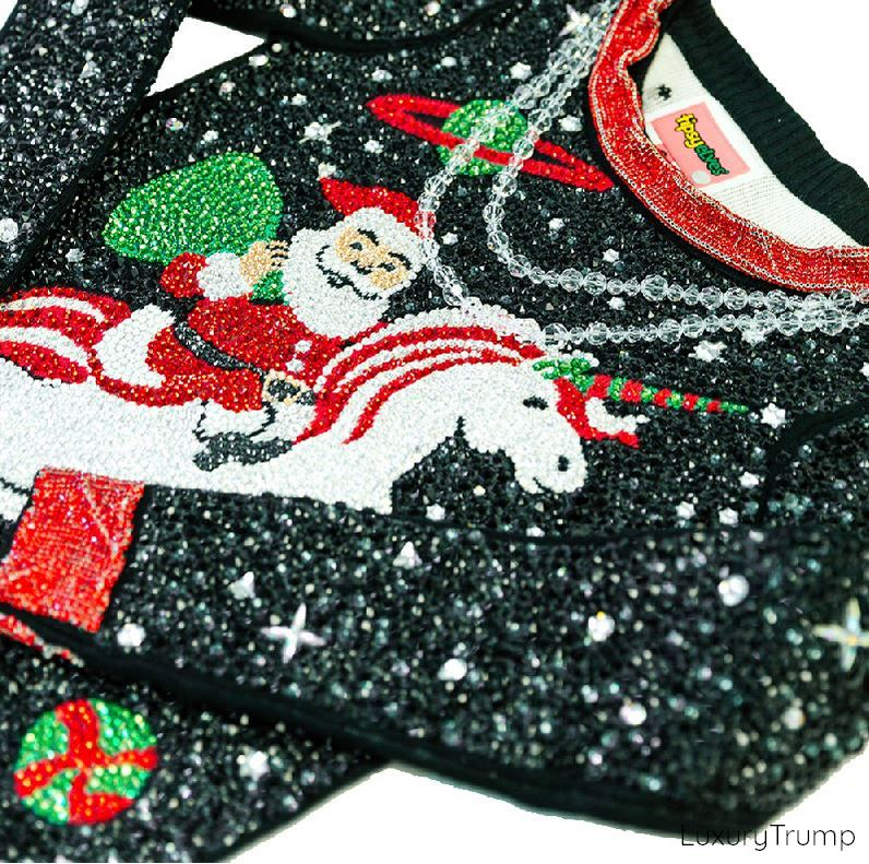 Swarovski Ugly Christmas Sweater