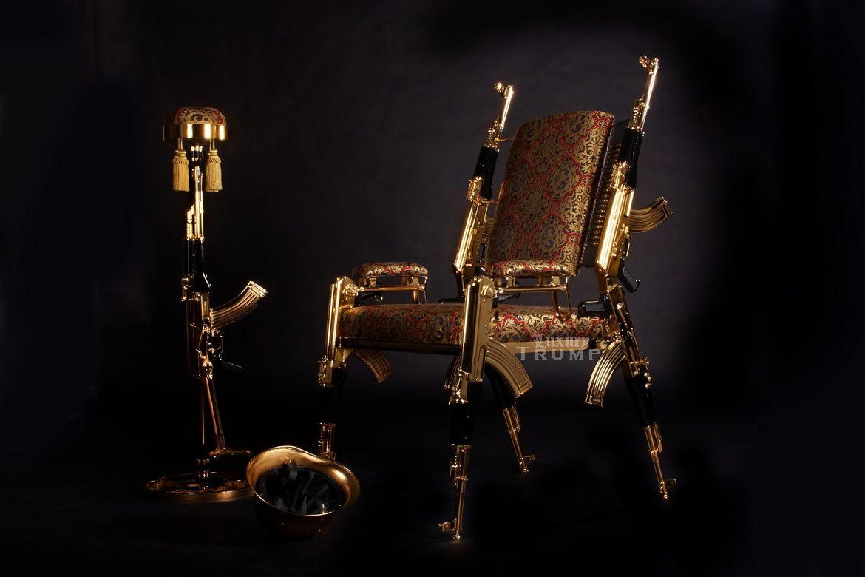 AK47 Chair Gold