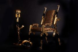 AK47 Chair Gold