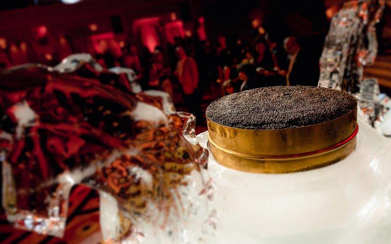 Burj Al Arab And AmStur Caviar