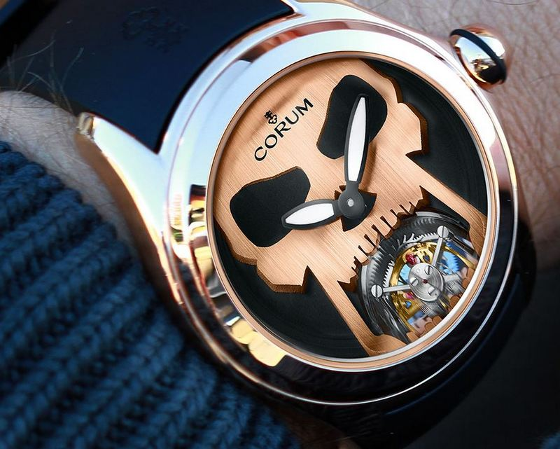 Corum Bubble 47 Flying Tourbillon