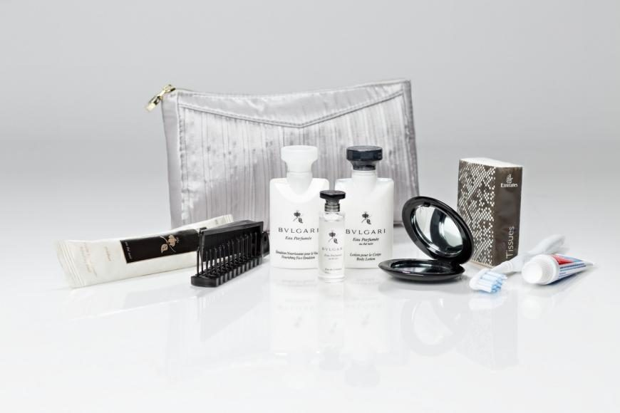 Emirates Bulgari First Class Amenity Kits