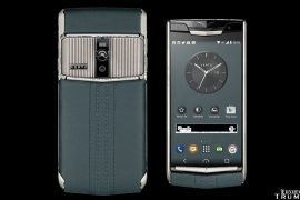 Vertu Signature Touch Teal Fluted