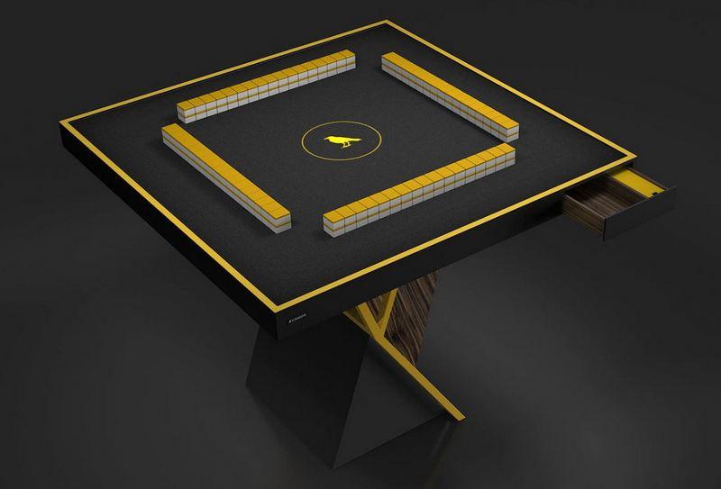 11 Raven Mahjong Macon Table