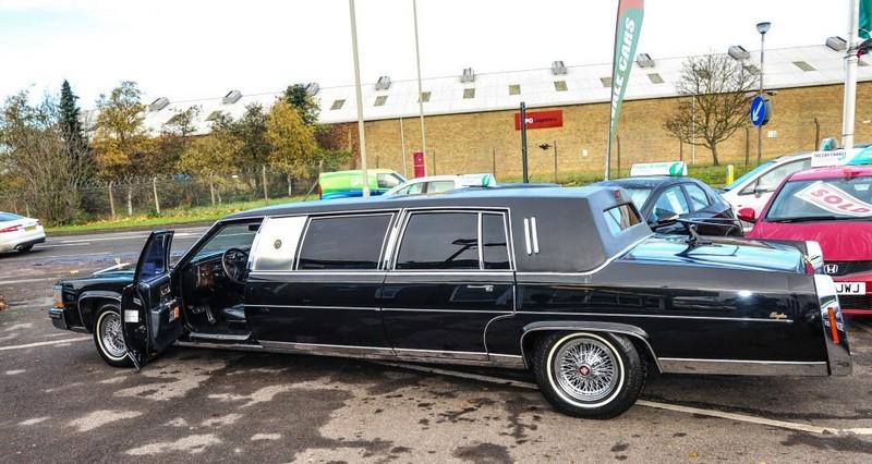 Donald Trump Cadillac Limo
