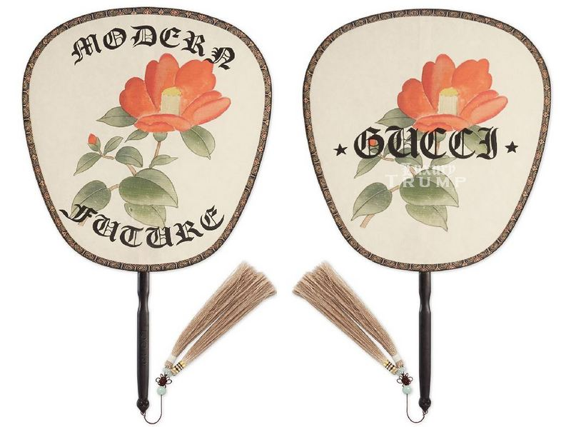Gucci Silk Fan $450