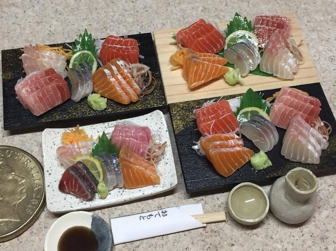 Japanese Miniature Food Models