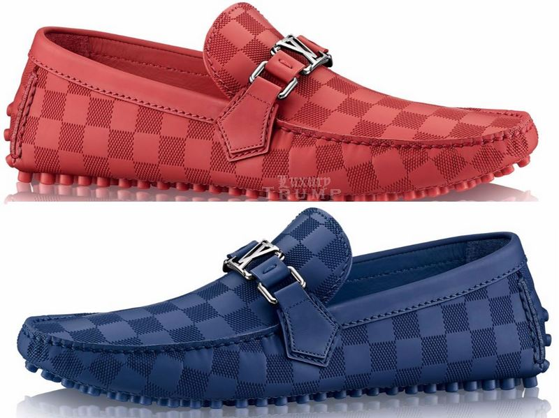 Louis Vuitton Damier Hockenheim Car Shoe