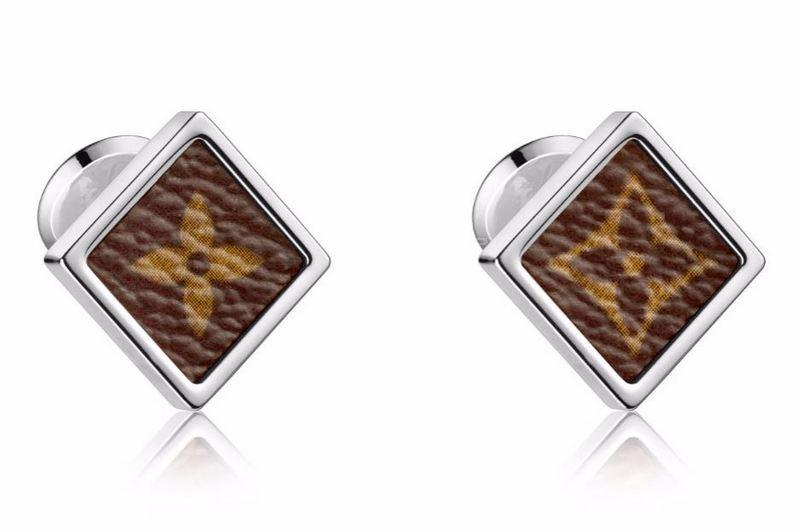 Louis Vuitton Monogram Square Cufflinks