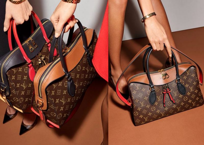 Louis Vuitton Tuleries Bags Monogram Canvas