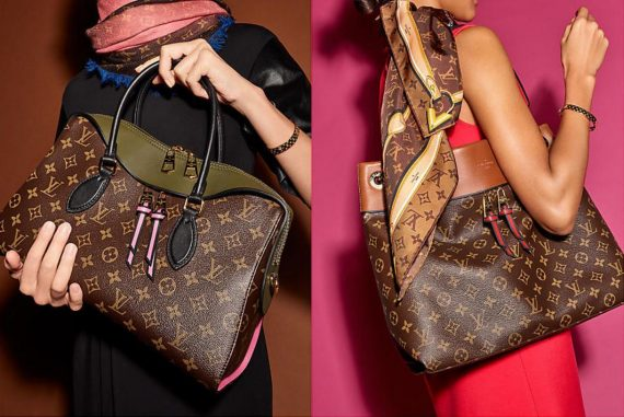 393a42a1a735 Louis Vuitton Tuileries Bags Accented With Iconic Monogram Canvas