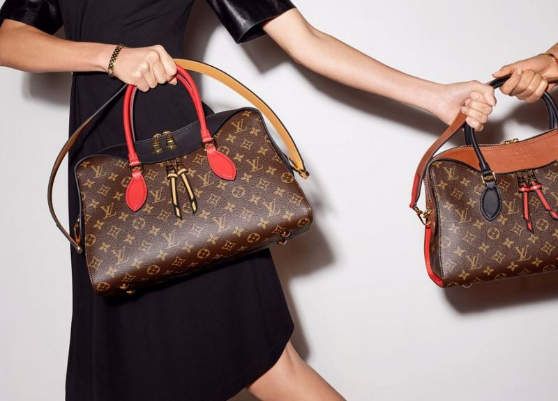 Louis Vuitton Tuleries Bags Monogram Handbag