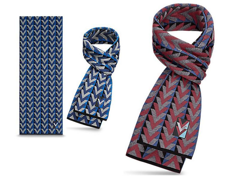 Louis Vuitton V Obsession Scarf