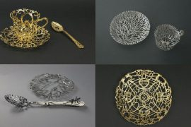 Wiebke Maurer Ornate Filigree Tableware