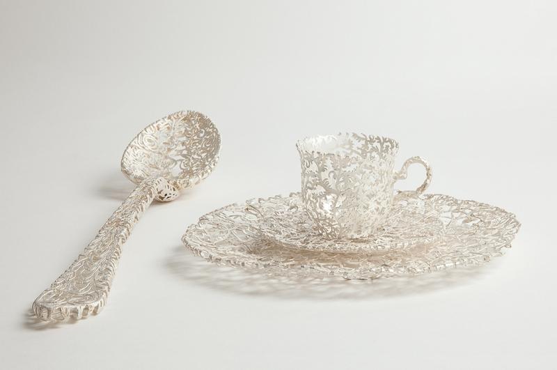 Wiebke Maurer Ornate Filigree Tableware
