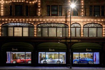 Aston Martin Display At Harrods