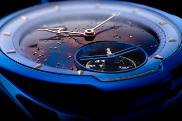De Bethune DB28 Kind Of Blue Tourbillon Meteorite