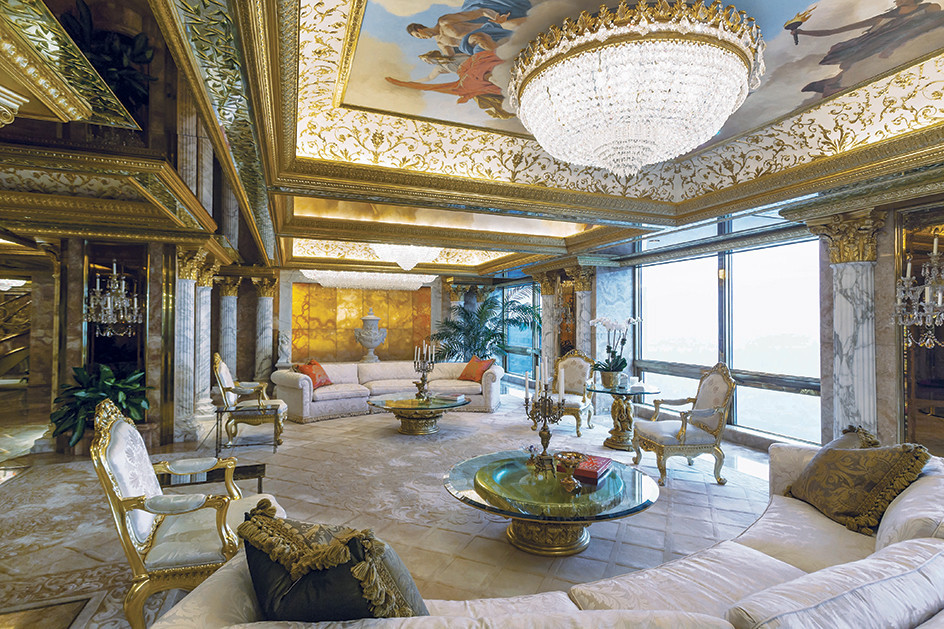 Donlad Trump Tower Penthouse
