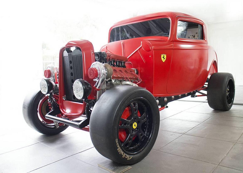 Ford Ferrari Mash Up