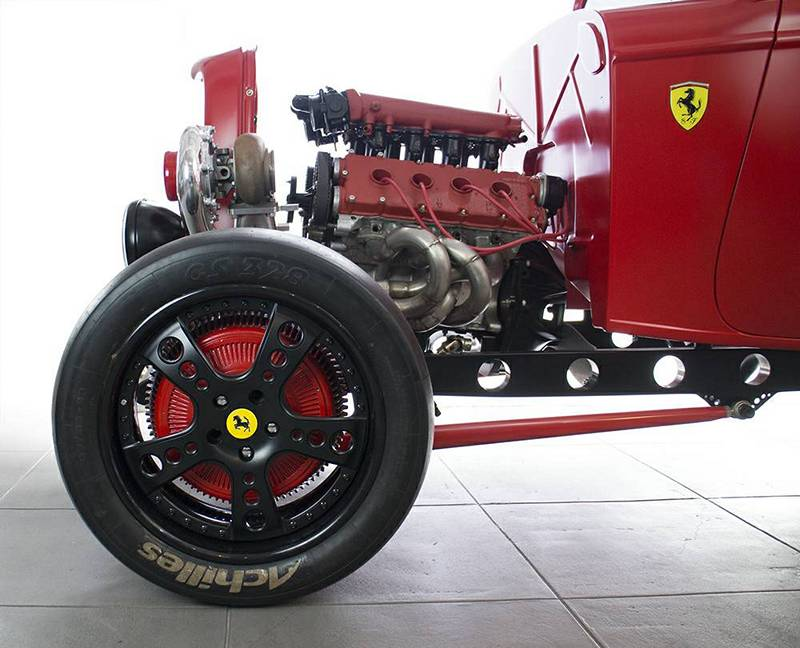 1932 Ford Ferrari Mash Up