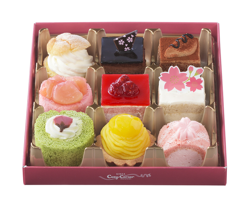 Ginza Cozy Corner Hanami Party Mini Cakes