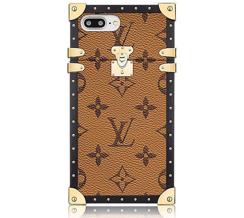 Louis Vuitton Eye-Trunk Monogram Reverse iPhone 7 Plus Case