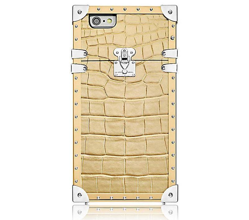 Louis Vuitton Eye-Trunk Crocodile iPhone 7 Case