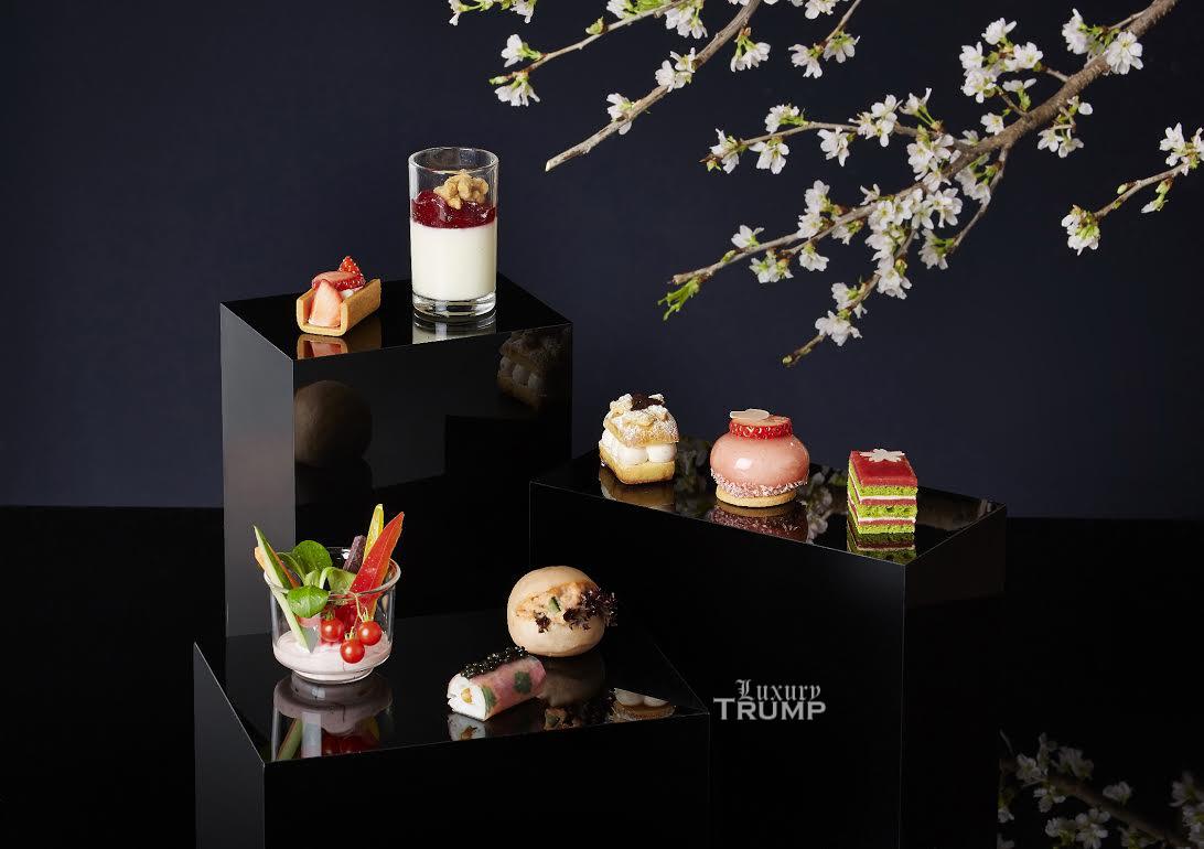 Ritz-Carlton HK Sakura Afternoon Tea