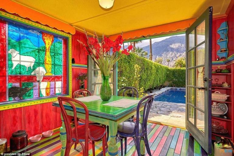 Spanish Style Most Colorful Home
