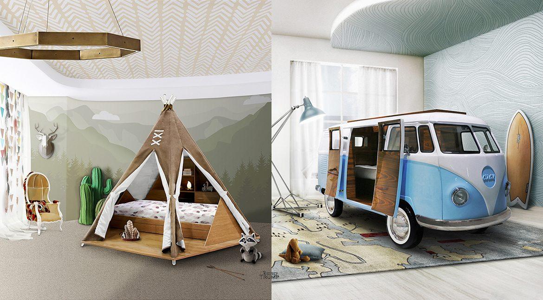Teepee Room and Bun Van Bed