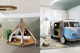 Teepee Room and Bun Van Bed
