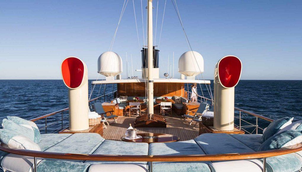 JK Rowling Luxury Yacht Amphitrite