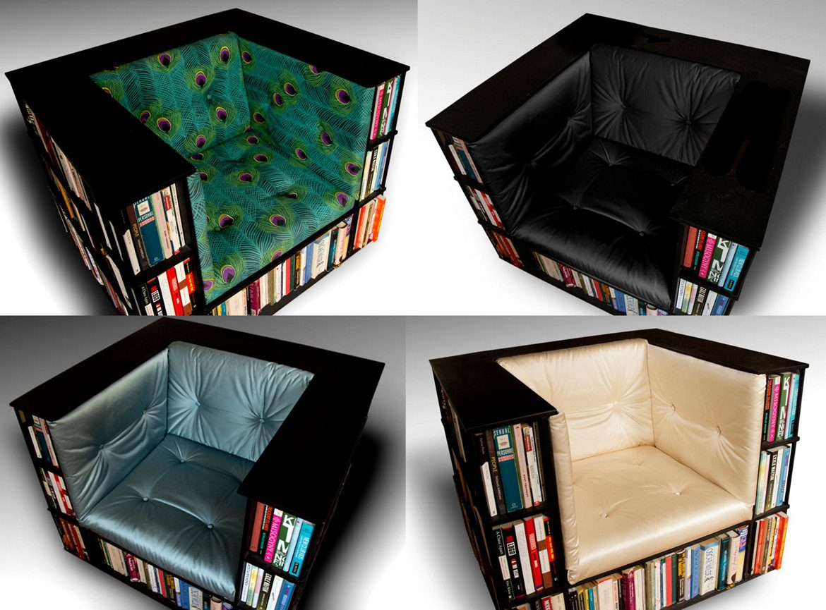 Library Bookcase Chair