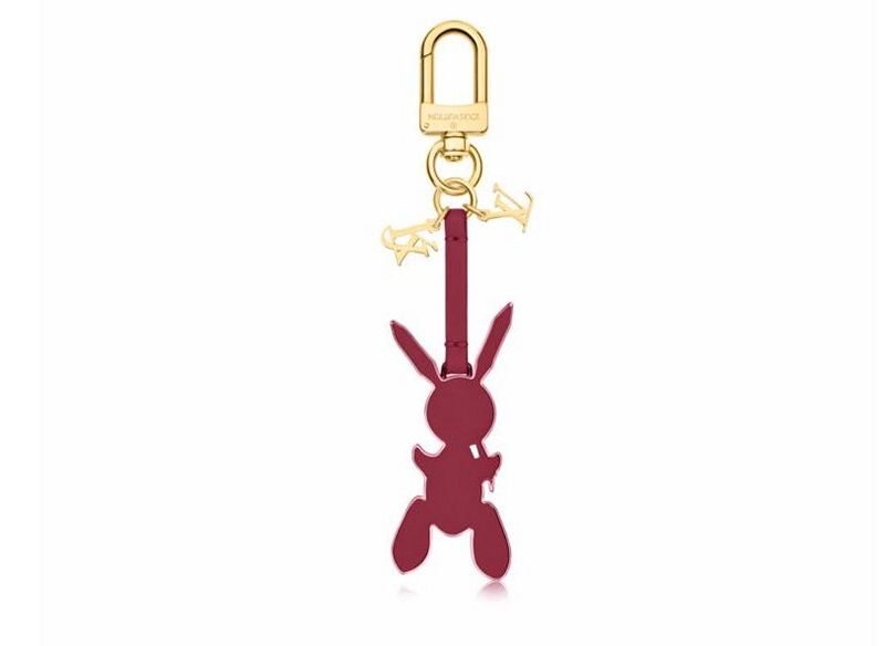 Masters LV x Koons Mars Venus Cupid By Titian Rabbit Keychain