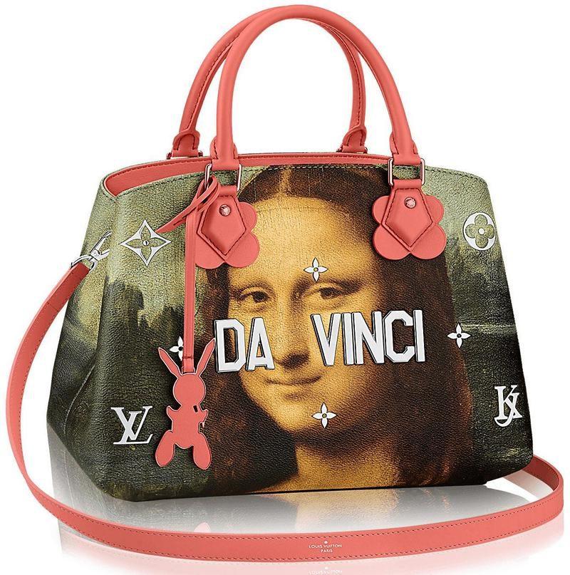 Masters LV x Koons Mona Lisa Montaigne MM