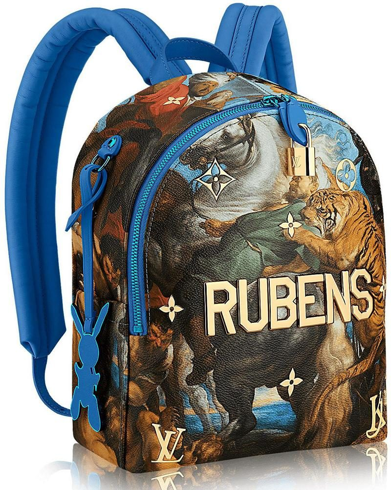 Masters LV x Koons The Tiger Hunt By Rubens Backpack